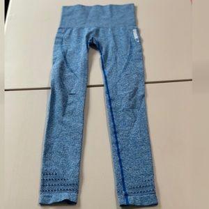 Authentic Gymshark Seamless Blue Leggings